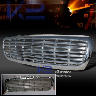1997 2004 Dodge Dakota Durango Hood Grill Grille Chrome