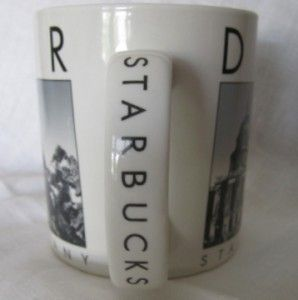 2005 Starbucks Denver Colorado Barista Mug City Scenes Series Black