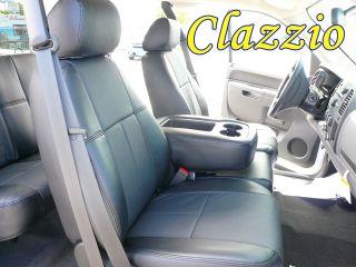 Dodge Ram Quad Cab 1500 Clazzio Leather Custom Fit Seat Covers 2006