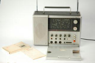Vintage Braun Dieter Rams Designed T 1000 World Receiver Radio