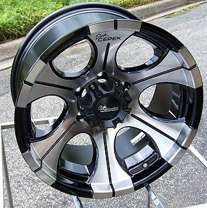 18 Dick Cepek DC2 Wheels Rims Chevy Dodge RAM 2500 3500 HD 8 Lug Ford