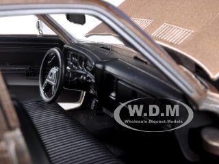 1986 Dodge Diplomat Brown Metallic 1 24 Diecast Car Model by Motormax