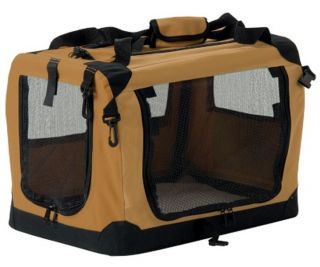 New Small Dog Fold Away Foliding Crate Pet Carrier Kennel Soft