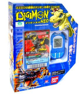 Bandai Digimon Blue Neo Pendulum Digivice Limited Digimon Game Card