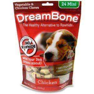 Chicken Dog Chew Mini 24 Pack New Bones Treats Dogs Supplies Pet NIB