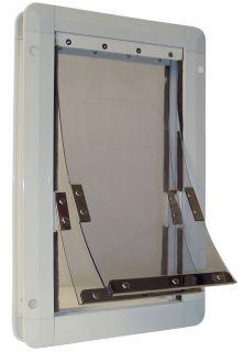 Ideal Insulator Pet Dog Door Dual 2 Flap All Sizes