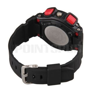 Unisex Digital Sports Stopwatch Alarm Clock Wristwatch Wrist Watch