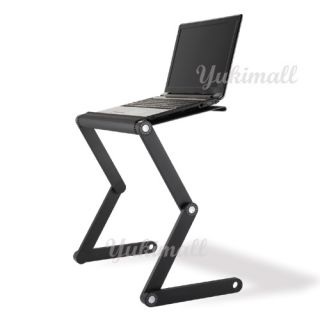 Foldable Laptop Table Portable Computer Desk TV Tray Vented A6