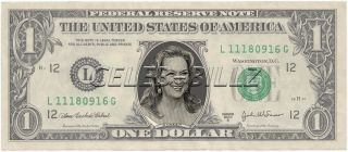 Meryl Streep Dollar Bill Mint Real $$ Celebrity Novelty Collectible