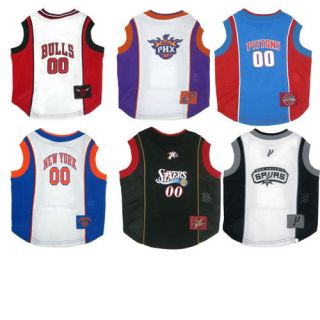 Officially Licensed NBA Dog Mesh Tank Top Shirt