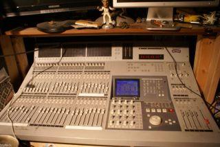 DIGITAL RECORDING STUDIO PACKAGE TASCAM TM d8000 Board 2xDA88s LEXICON