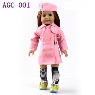 Doll Clothes for 18 American Girl Doll Accessories Christmas Gift