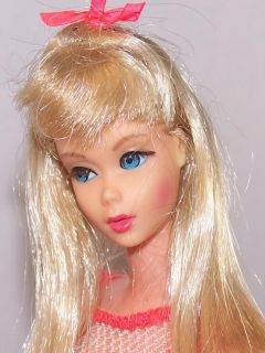 vintage mod tnt blonde platinum barbie doll in oss gorgeous doll this