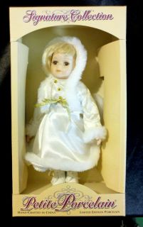 RARE COLLECTIBLE PORCELAIN HANDMADE ART DOLL RUSSIAN SCANDINAVIAN GIRL