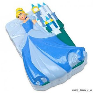 New  Cinderella Princess Text Lights Slide Toy Cell Phone