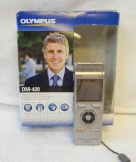 Olympus Digital Voice Recorder with Micro Secure Digital Card Slot 2GB