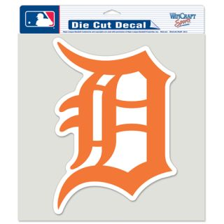 Detroit Tigers Primary Logo Die Cut Car Sticker NBA Decal 8 x 8