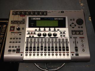 boss br 1600 cd digital recording studio