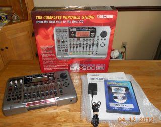 Boss BR 900CD Digital Recording Studio in Recorders