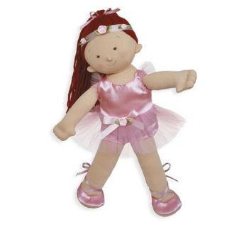 North American Bear Doll Ballerina Redhead Cloth Red Hair Ballet Rosy