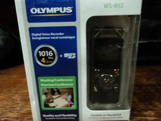 Olympus ws 82 digital voice recorder