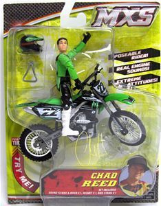 Chad Reed MXS Dirt Bike Toys