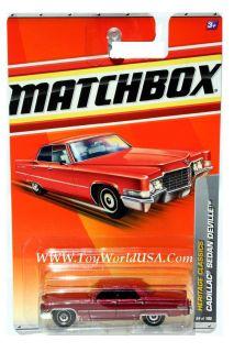 Matchbox 24 Heritage Classics Cadillac Sedan DeVille Drk Red