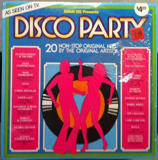 various disco party label adam viii format 33 rpm 12 lp stereo country