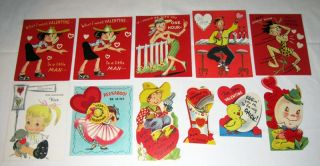 Lot of 36 Vintage Childrens Valentines Day Cards