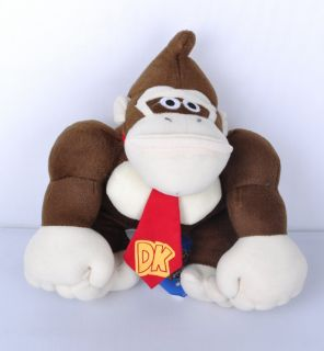 Mario Bros 9 Donkey Kong Plush Doll Toy Mario Plush Toy TW1413