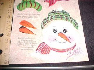 donna dewberry reusable teaching guide snowman new oop
