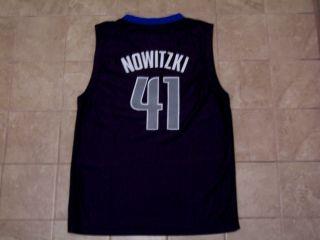 Dirk Nowitzki Dallas Mavericks 41 NBA Basketball Jersey Junior Medium