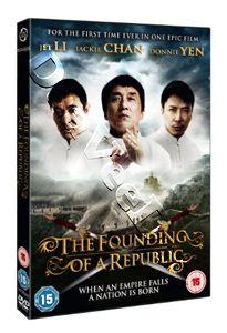 Founding of a Republic NEW PAL Cult DVD Jackie Chan Jet Li Donnie Yen
