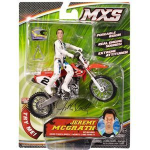 Jeremy McGrath MXS Dirt Bike Toys
