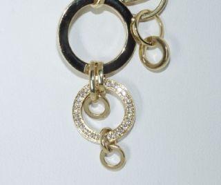 Di Modolo 18 KT Yellow Gold and Diamond Necklace