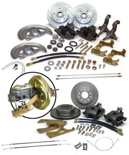 Chevy 2 Nova Complete 4 Wheel Disc Brake Conversion Kit