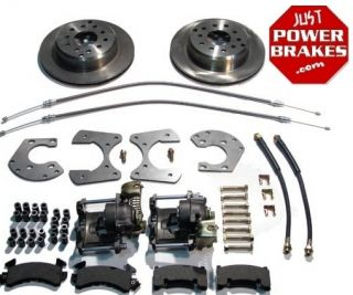 Dodge Charger Rear Disc Brake Kit Conversion