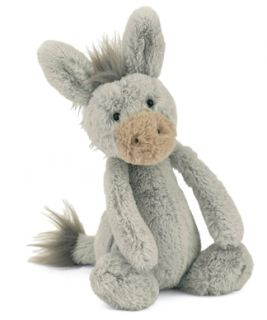 Jellycat Bashful Donkey Small Stuffed Animal Plush New