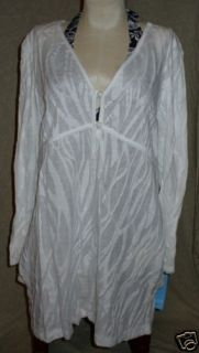 Dotti Beach Swim Suit Wear Dress Wrap Cover Up Sz L