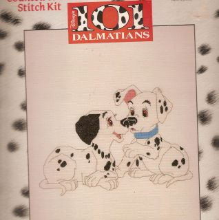 PUPPY TALK ~ Disney Counted Cross Stitch Kit ~ 101 Dalmatians