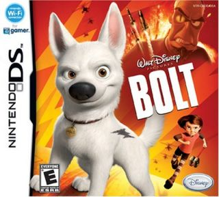 Bolt Nintendo DS Disneys Bolt Dog Penny Mittens