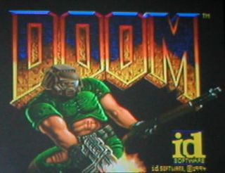 32X System Upgrade W/ Doom Cartridge for the Sega Genesis & CD