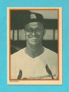 Stan Musial Cards   St. Louis Cardinals Oddball Lot   TCMA, Rookie