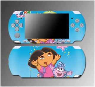 Dora the Explorer Boots Backpack Nick Jr Video Game Skin #6 Sony PSP