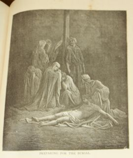 Life of Christ 1890 Illustrated Gustave Dore Bible Jesus Color