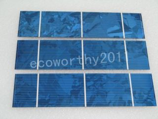 Poly Solar Cell 156x39mm Solar Cells 1W PC for DIY Solar Panel