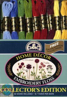 dmc embroidery floss pack 8 7 yards home decor 36 pkg