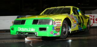 41 Dick Trickle 93 Olsmobile Manheim 1 24th Scale Custom Built Slot