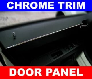 Dodge Chrome Door Panel Trim Molding Universal Style