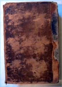 RARE Antique Leather 1837 Comprehensive Bible Commentary Matthew Henry